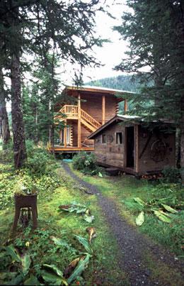 Prince William Sound Lodge and sauna